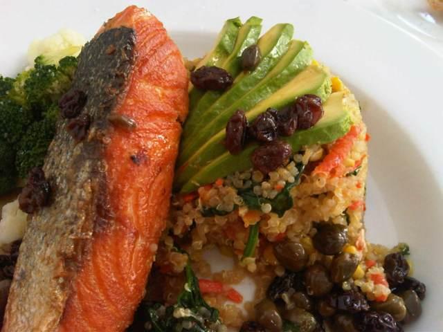 comidas sanas menús saludables ideas deliciosas salmón