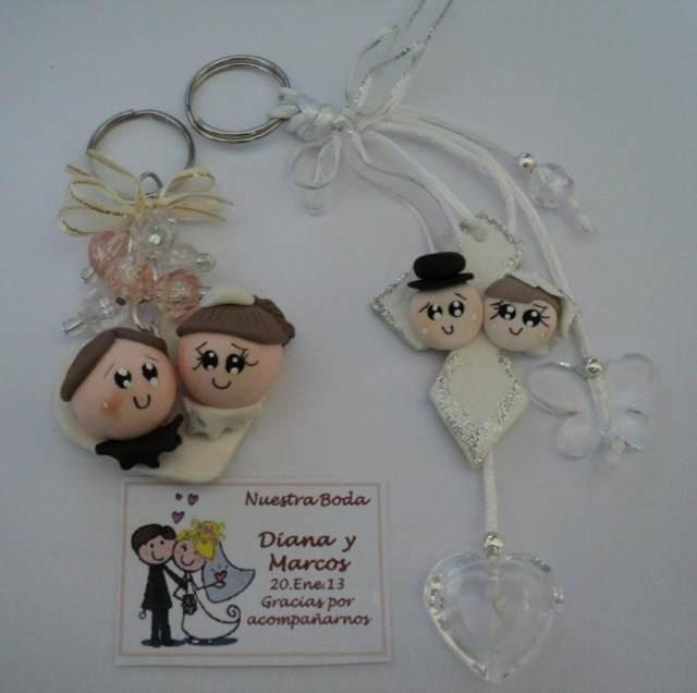 recuerdo boda llavero novios ideas fantásticas