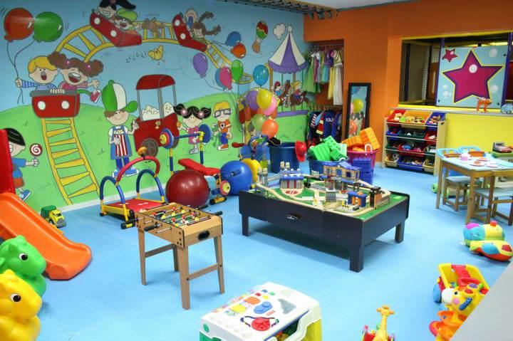 salones de fiestas infanitles diseños modernos decoración juegos