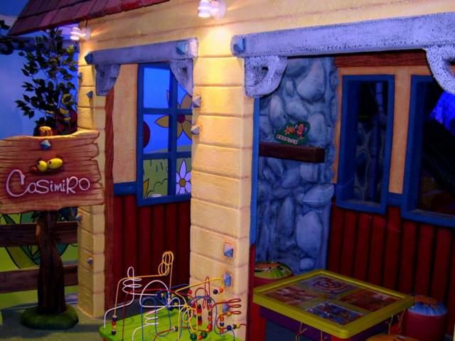 salones de fiestas infantiles diseños originales decoración temática juegos