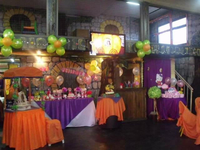 salones de fiestas infantiles decoración temática diseño moderno