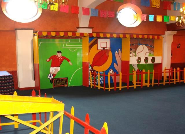 salones de fiestas infantiles ideas modernas juegos divertidos