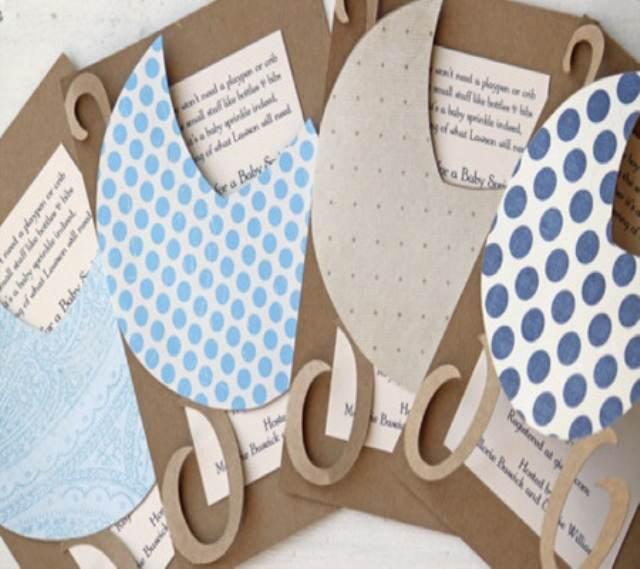 decoración para baby shower idea maravillosa invitacion.