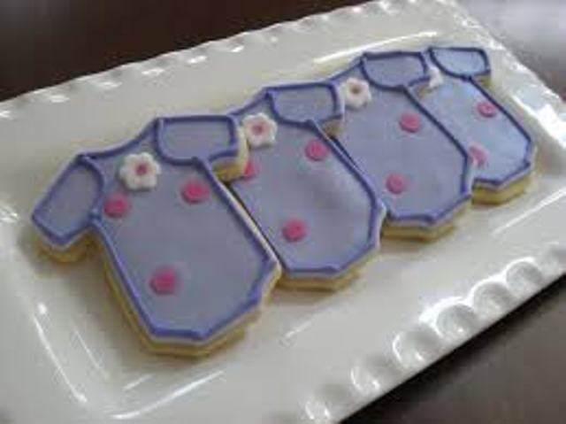galletas comida decoracion para baby shower