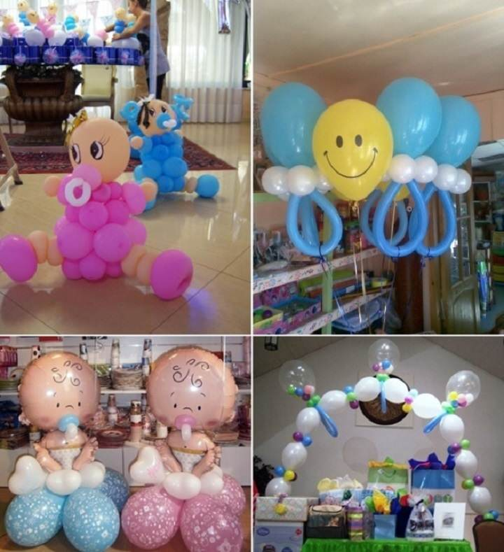 Decoracion Al Aire Libre Para Baby Shower ~ Unas ideas maravillosas con globos decoraci?n para baby shower