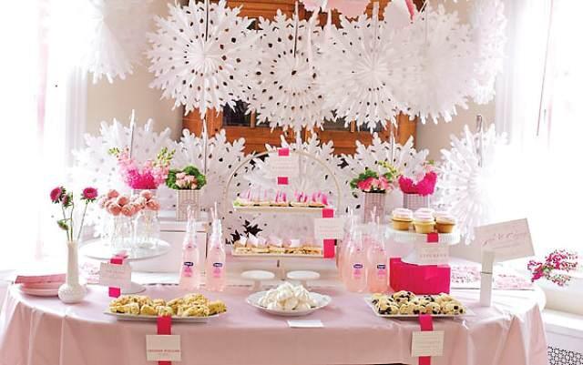 ornamentos elegantes hechas a mano para baby shower