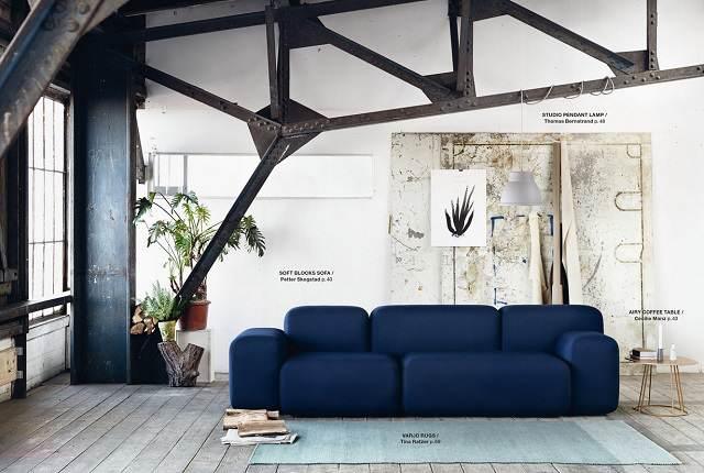 decoracion para hogar invierno tendencias 2015 sofa