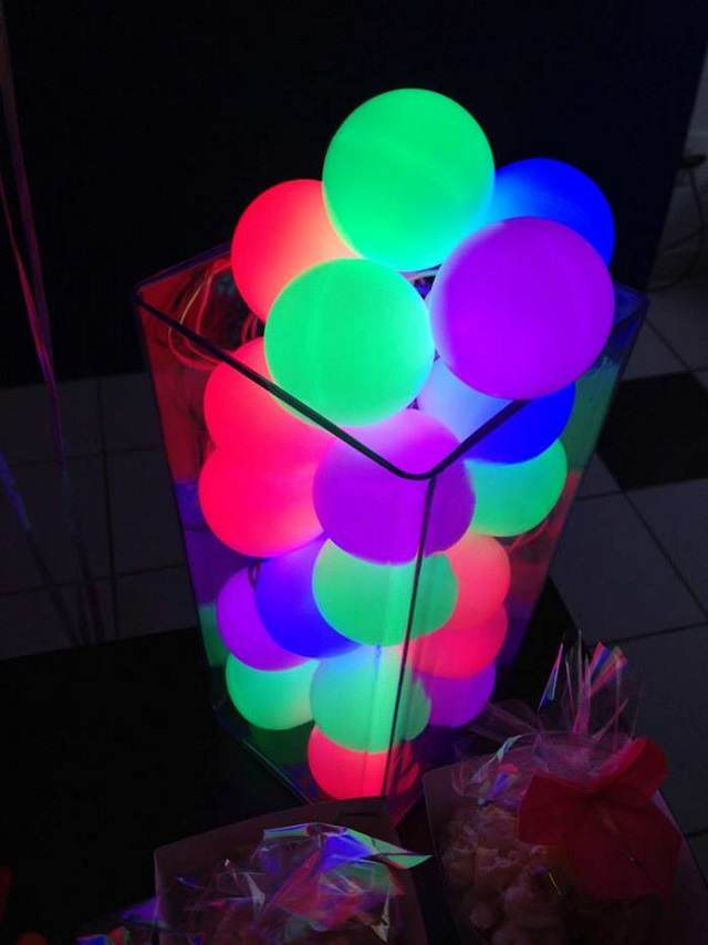 Decoracion Para Cumpleanos En Colores Neon