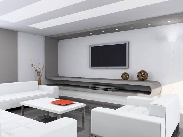 idea elegante color blanco decoracion para hogar invierno 2015