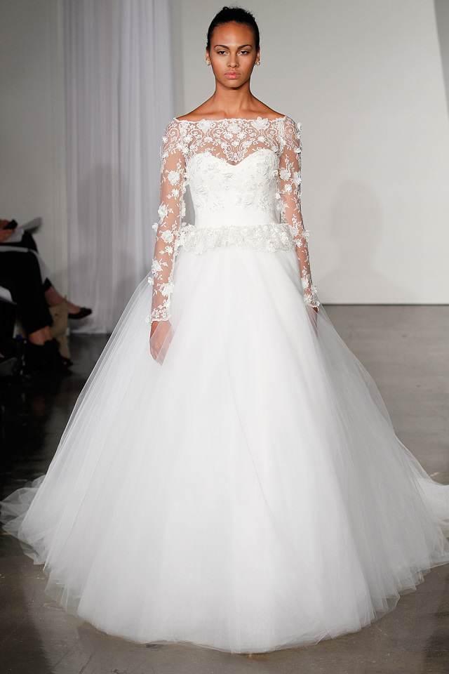 fantásticos vestidos de boda nueva larga