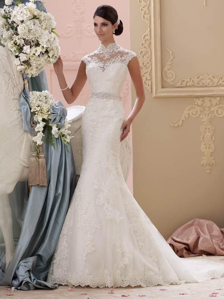 preciosos vestidos de boda tendencias nuevas 2015