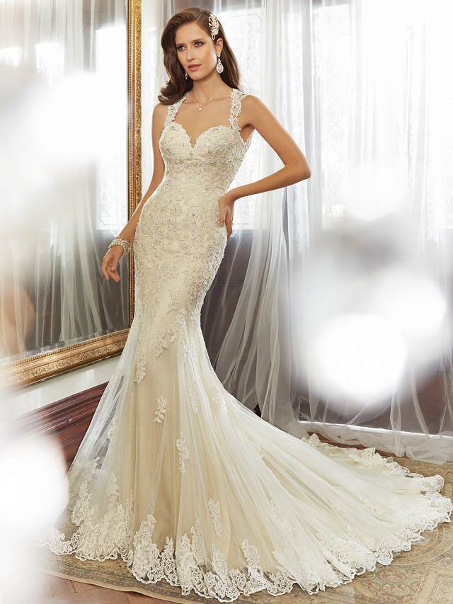 vestido de novia maravilloso novedoso 2015