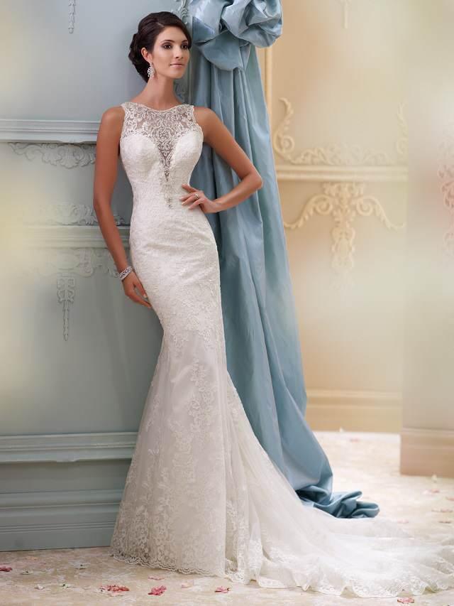 traje de novia elegante largo bonito blanco