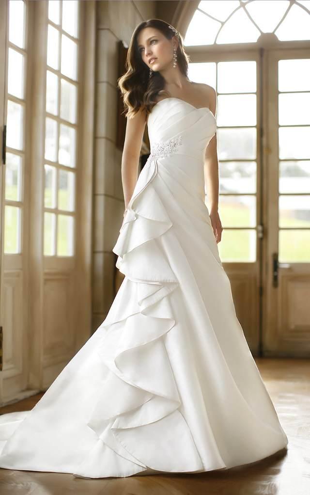 maravillosos vestidos de boda otono tendencias nuevas 2015