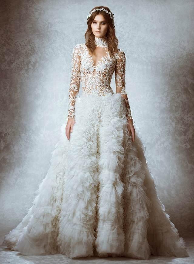 vestidos de boda otono tendencias nuevas 2015 no estandar